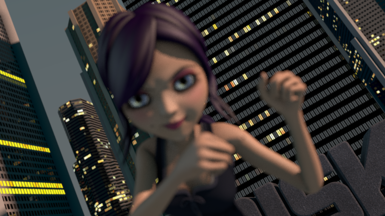 3D Character Animation<br />Girl Power